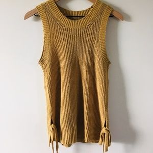 LOFT Sleeveless Knit Sweater Size Small